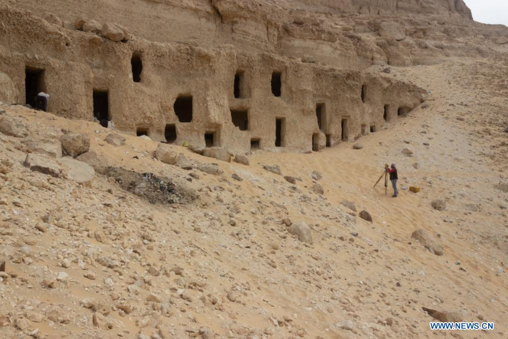 Egypt uncovers 250 ancient tombs, dating back 4,200 years, in Sohag