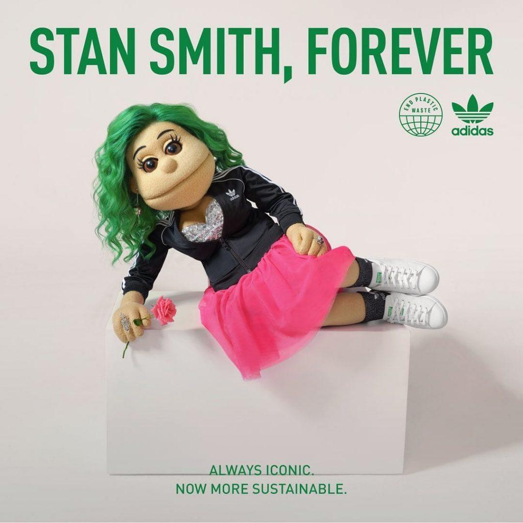 Abla Fahita collaborates with Adidas MENA for their Green Stan Smith, Forever