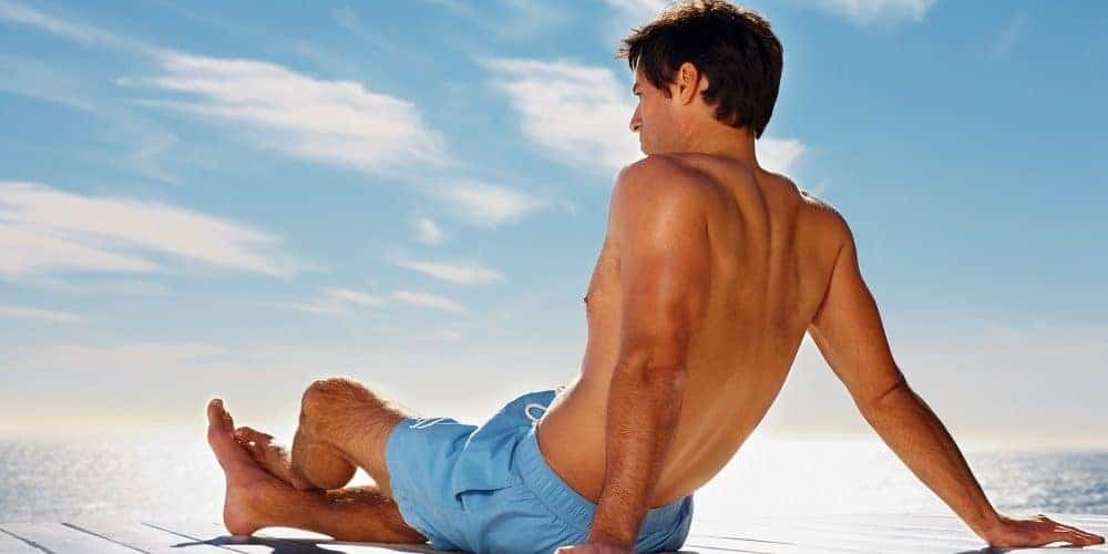 Self tan guide men panorama