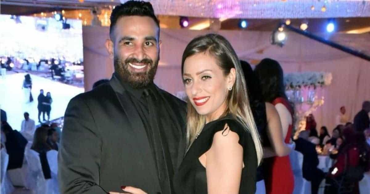 Reem El-Barody with Ahmed Saad