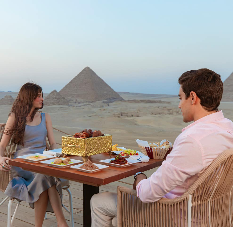 9 Pyramids Lounge: Everything to know about Egypt's First Restaurant At Giza Pyramids