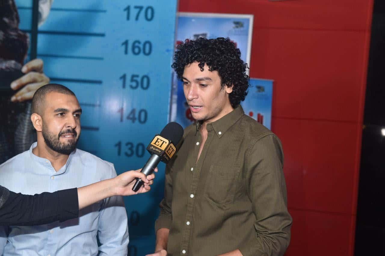بالصور: عبد الوهاب وكيمز في العرض الخاص لفيلم الخطة العايمة