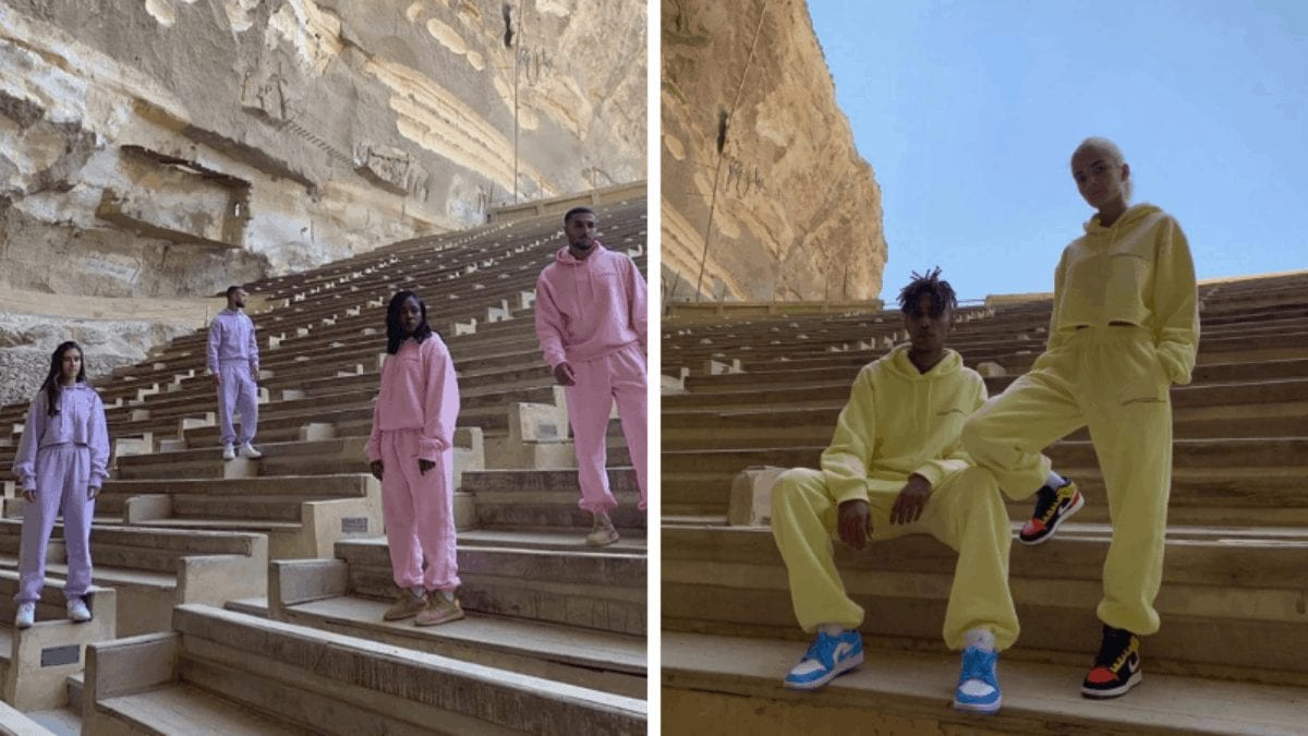 NotFoundCo.: An Egyptian Fashion Brand Had Their Shoot in a Church, and its NOT okay!