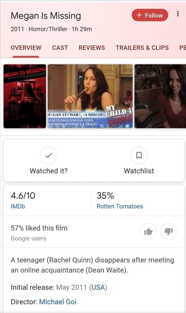 فيلم Megan is Missing: ليه اكتر فيلم مرعب في 2011 مكسر الدنيا علي تيك توك