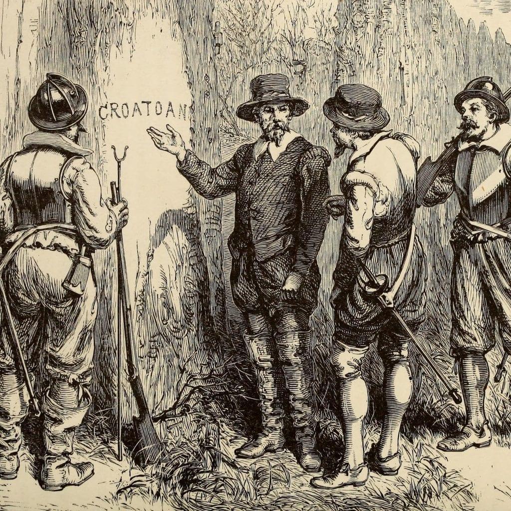 Disappearance of Roanoke Island