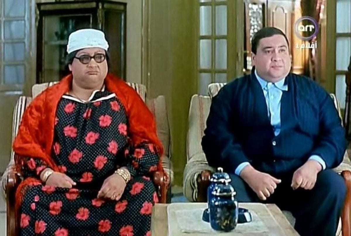 Egyptian actors in drag
