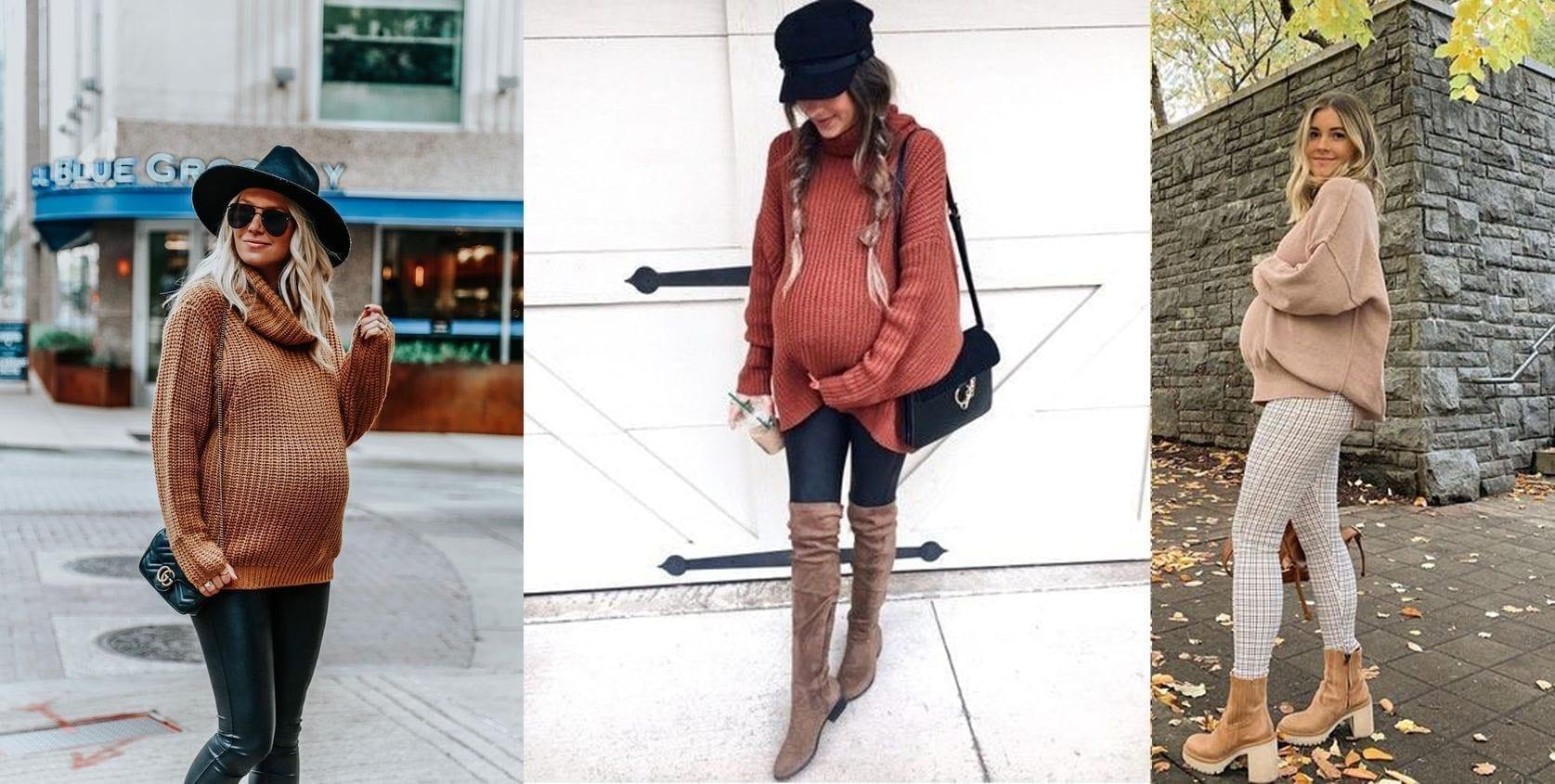 أربع أفكار عملية لموديلات أزياء الحمل في الشتاء