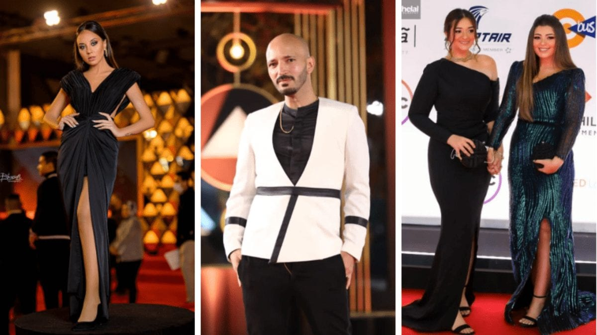 7 Egyptian Designers Who Stole the Spotlight at the Cairo International Film Festival Red Carpet