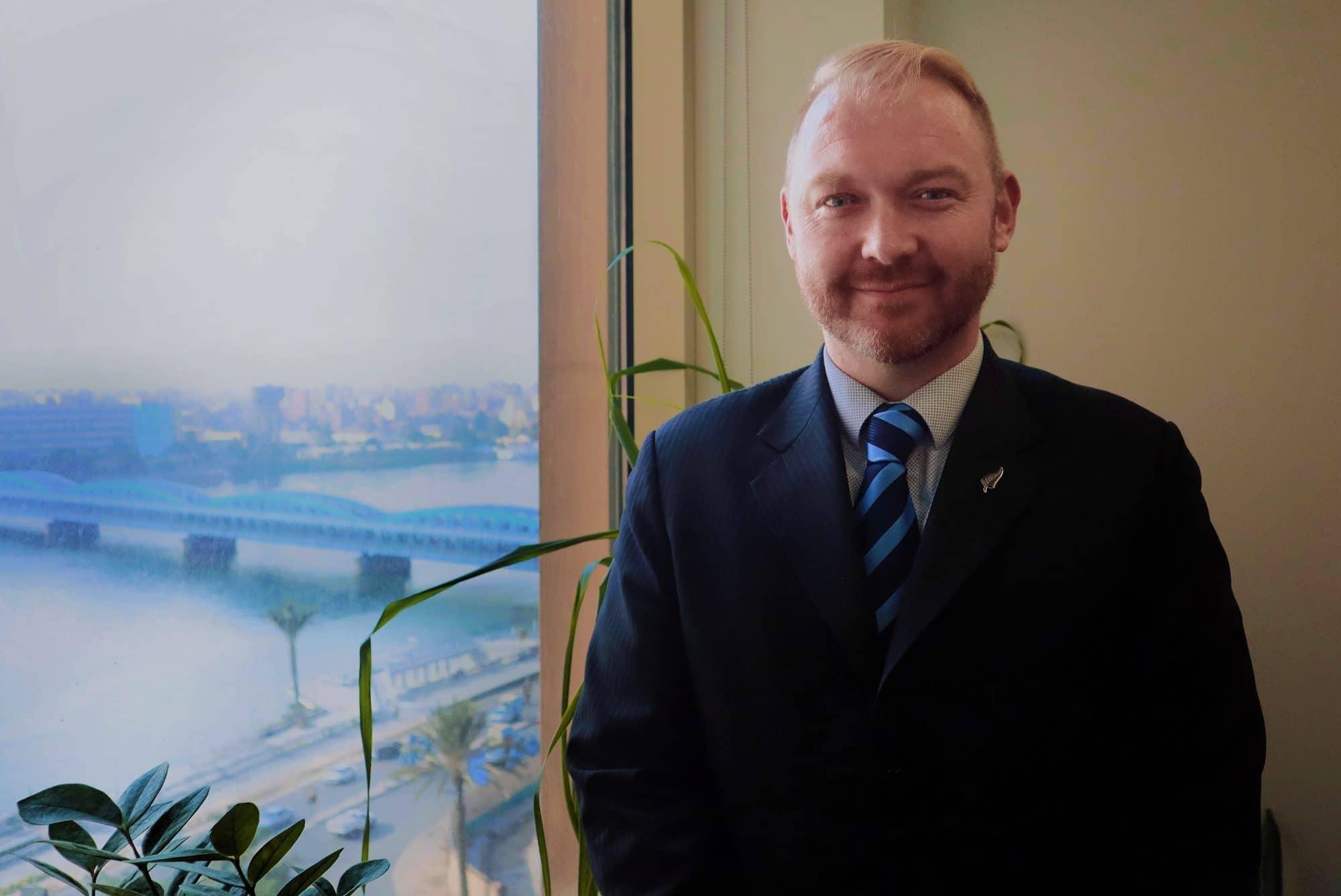 A Talk with Mr. Greg Lewis, New Zealand Ambassador to Egypt