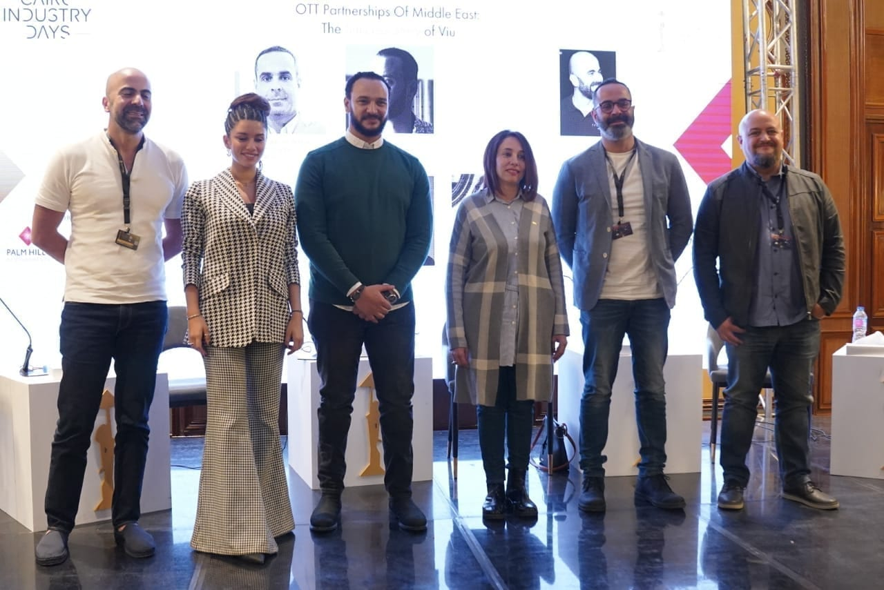 Abe Shady Aboul Naga at Viu's Cairo International Film Festival's Press Conference