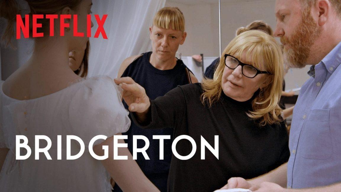Netflix Reveals The Production Of Bridgerton Fashion Elements In The Regency Era