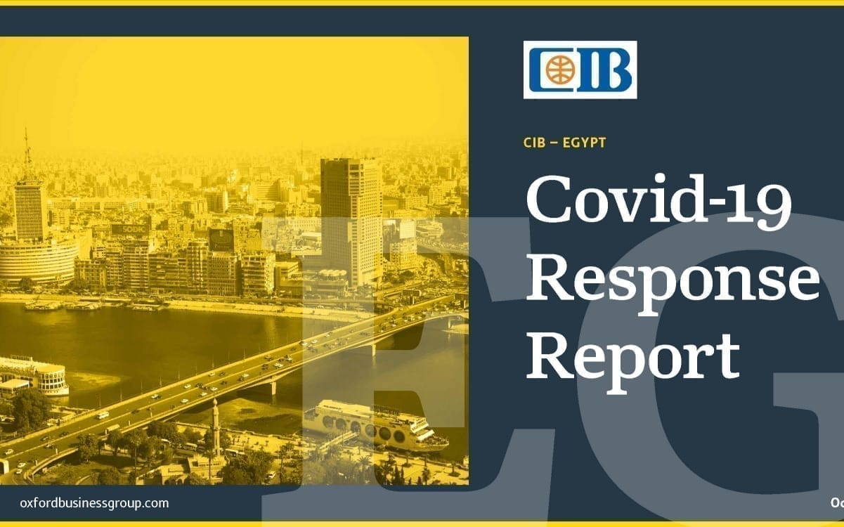 Oxford Business Group and Commercial International Bank (CIB) team up for new Covid-19 Response Report