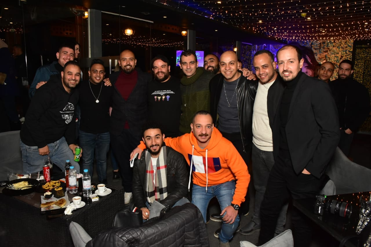 Mohamed Abdel Rahman Celebrates the Opening of Derby Lounge in a Star-studded Night!