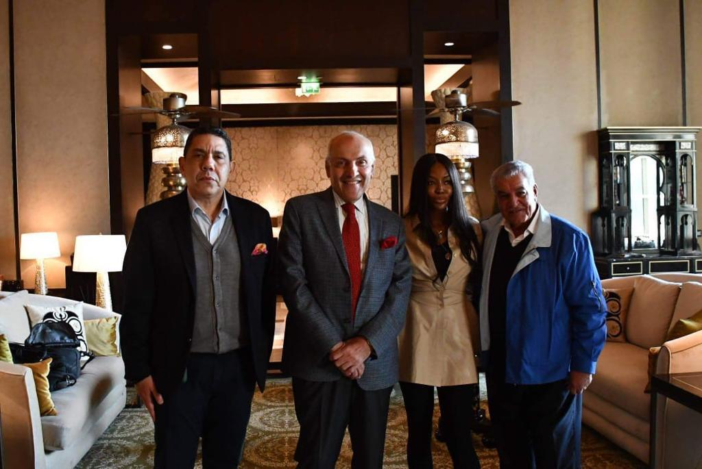 Naomi Campbelle Visits Egypt