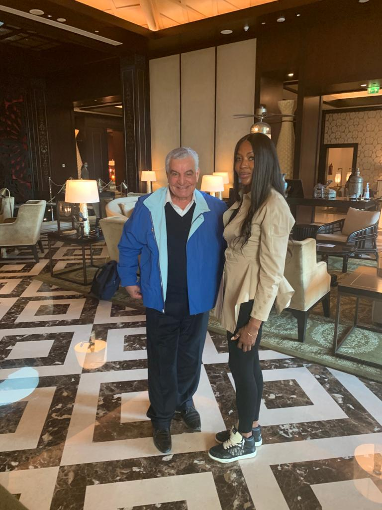 Supermodel Naomi Campbell Visits Egypt for the First time!