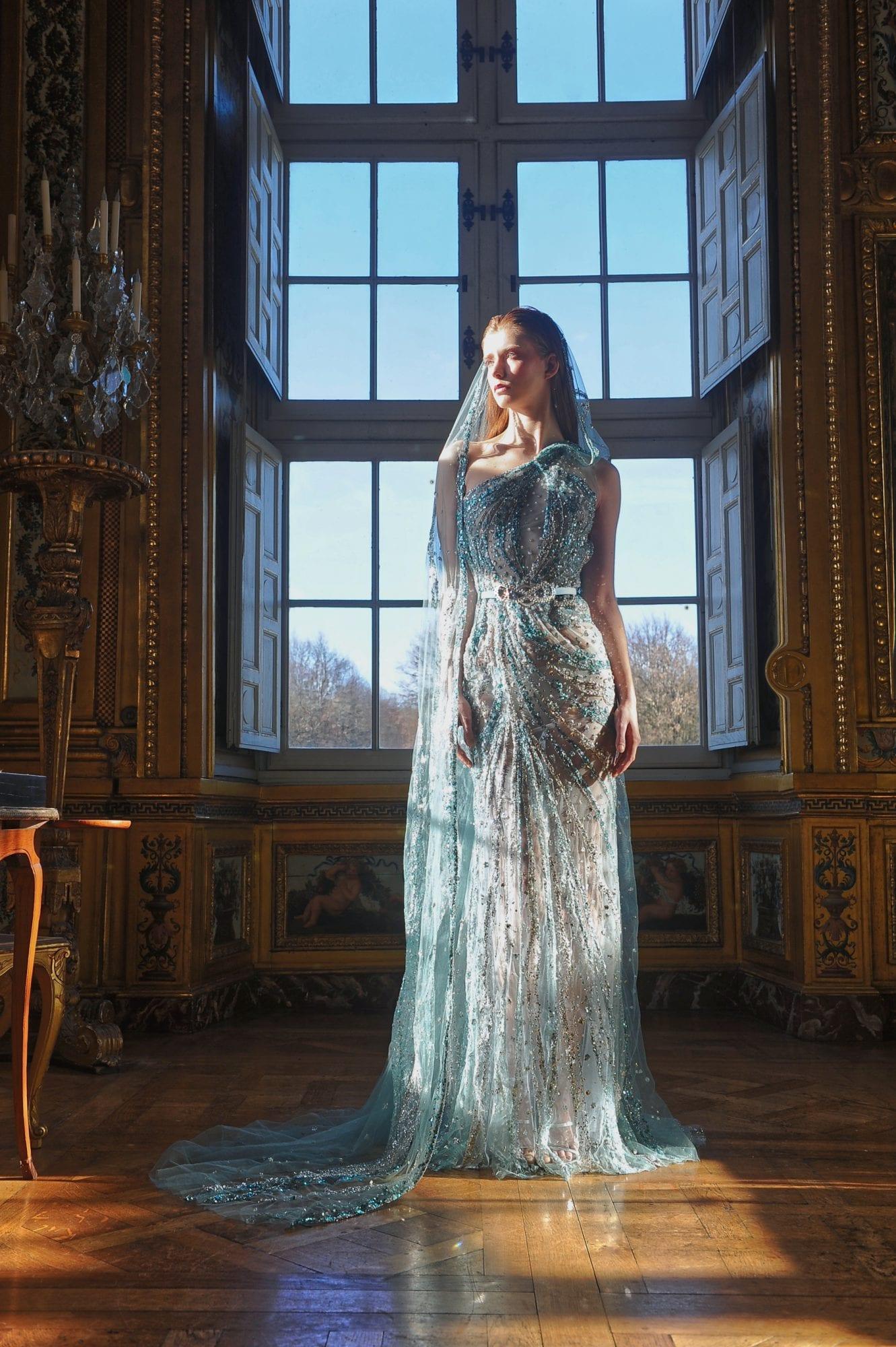 Ziad Nakad Couture Paris SS21: Another Glamorous Celebration of Femininity