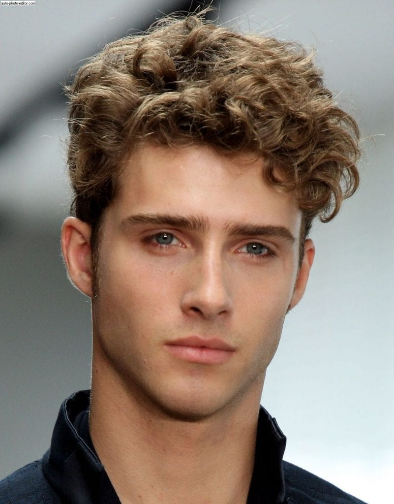 How To Take Care or Get Curly Hair For Men!