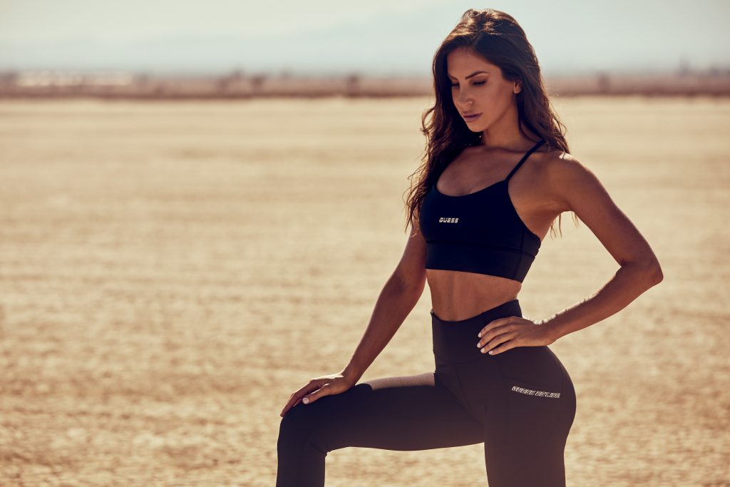 Social Media Icon and Fitness Advocate Jen Selter Stars as Face of GUESS Spring 2021 Activewear Campaign