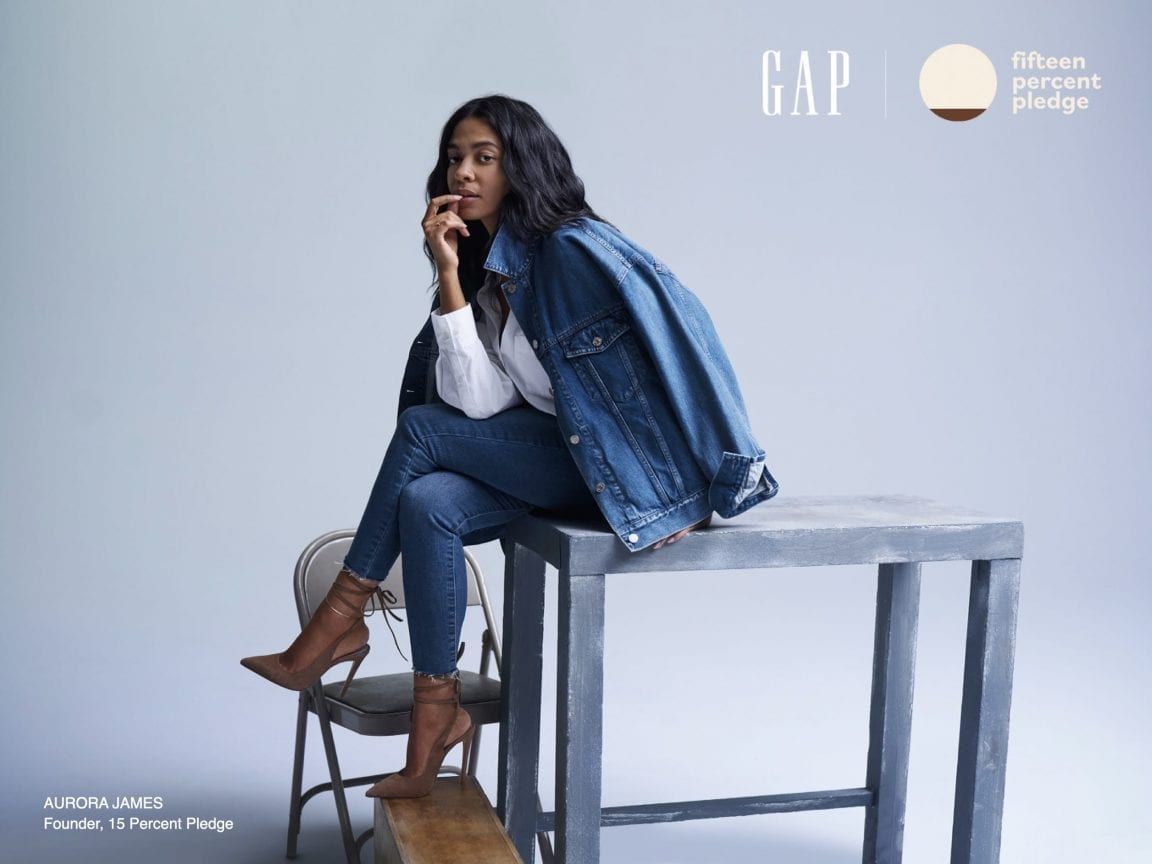 Gap Inc. Joins the 15 Percent Pledge and Commits to Increasing Pipeline Programs by 15 Percent