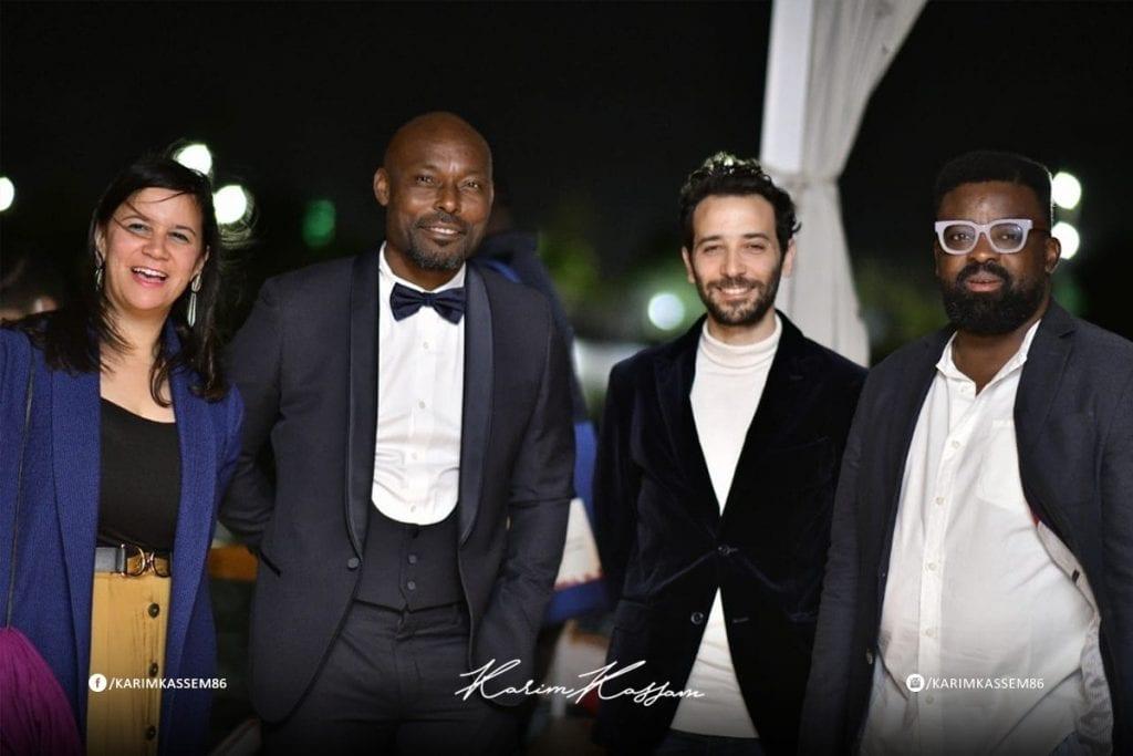 بالصور: كريم قاسم في حفل افتتاح مهرجان الأقصر للسينما الأفريقية