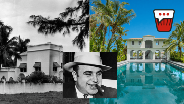 AL CAPONE'S FORMER PALM ISLAND MIAMI BEACH MANSION