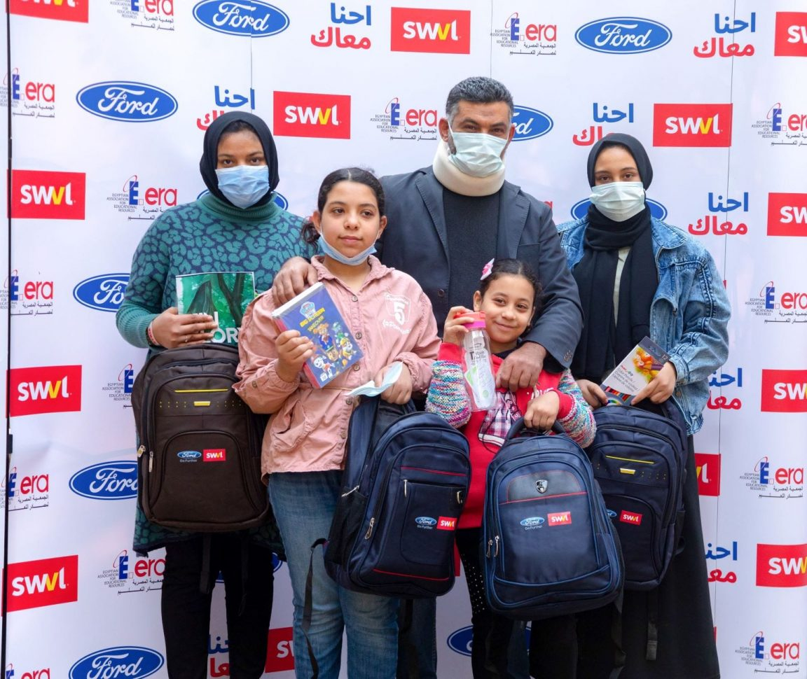 Ford Fund Donate EGP600,000 For Vital Education and Healthcare Supplies for SWVL Captains Children