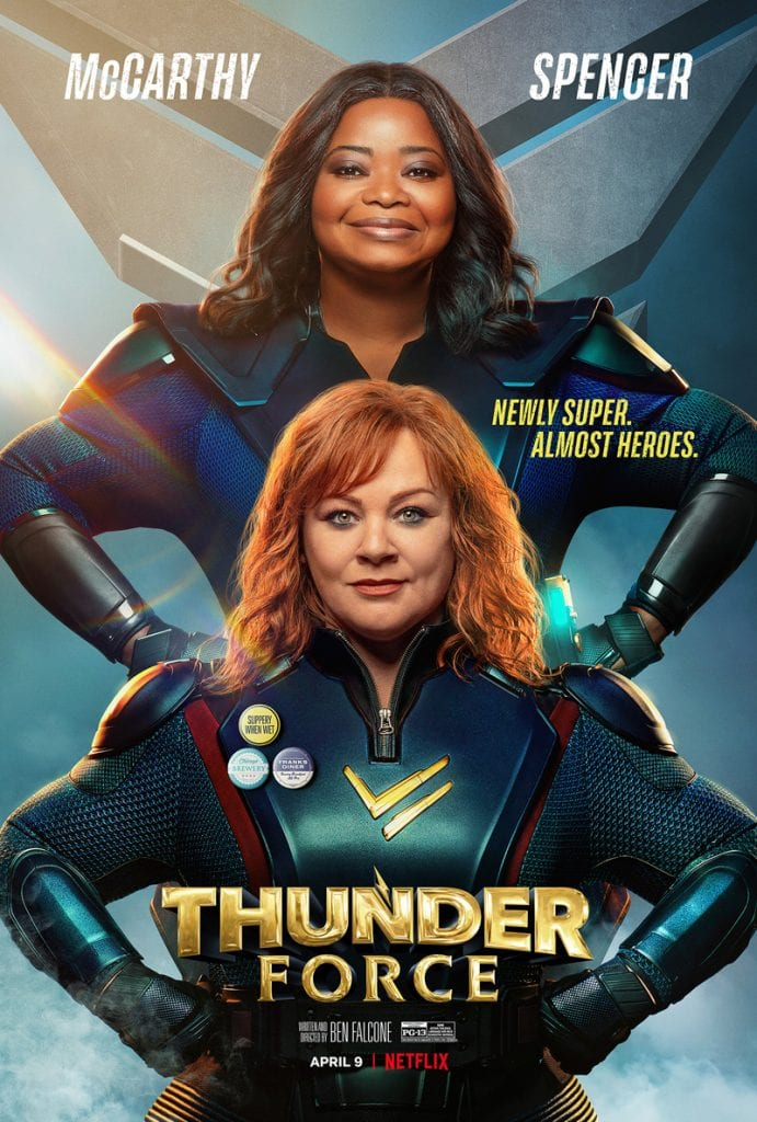 Thunder Force: First Look at Melissa McCarthy and Octavia Spencer New Superhero Flick on Netflix