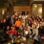 أسرة حرب أهلية تحتفل بعيد ميلاد النجمة يسرا