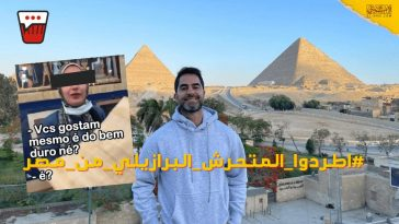 Victor Sorrentino A Brazilian Doctor and Influencer Harasses an Egyptian woman on Camera for His Million Followers (1)