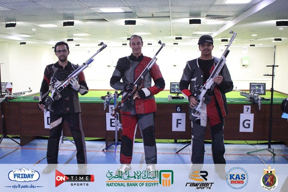 Egypt Tops the Ranking at the Arab Shooting Championship Air Rifle and Air Pistol Competitions for Men