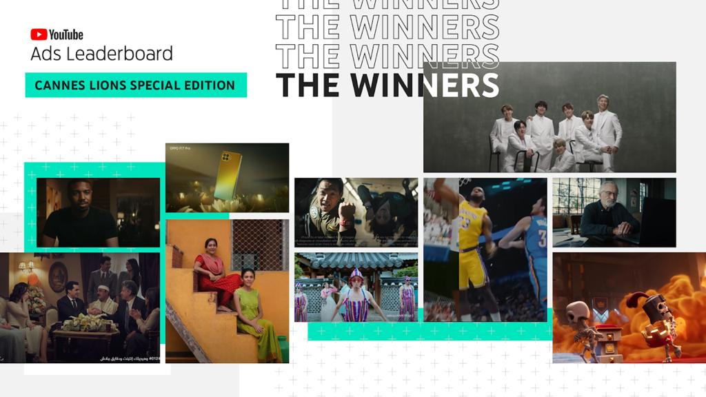 YouTube Ads Leaderboard - 2021 Global Cannes Lions Edition: YouTube Reveals 2021's Top Global Ads