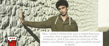 Zara's Head of Design Attacks Palestinian Model, Qaher Harhash, in Islamophobic Rant