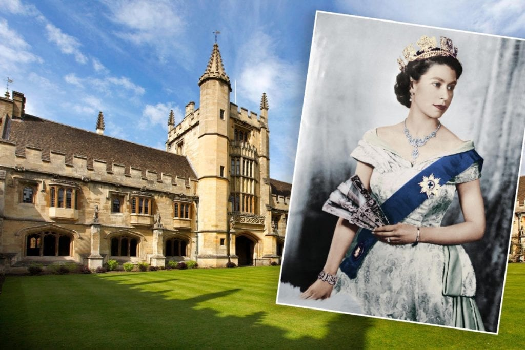 The Queen of England's Portrait Removed from Oxford University after a Students Deemed it a Symbol of Colonialism