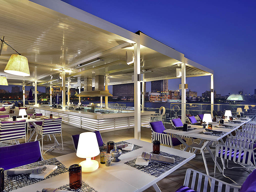 Le Deck at Sofitel Cairo Nile El Gezirah Sunk to the Bottom of the Nile!