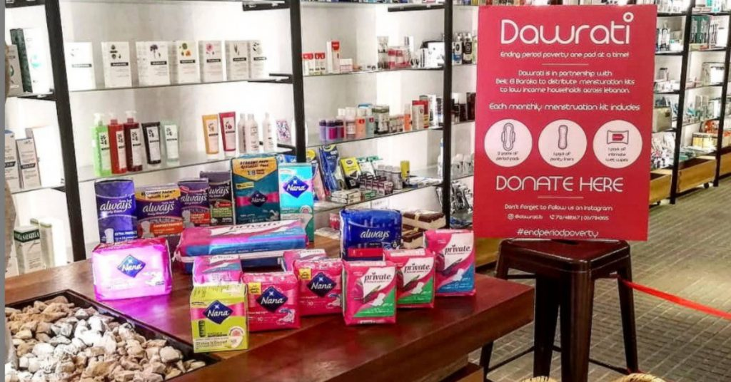 Lebanese Women Can't Afford Period Supplies, Yet Men's Razors are Subsidized
