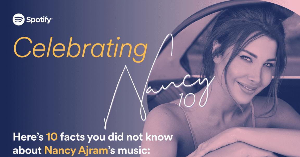 Spotify Celebrates Nancy Ajram's Latest Album, Nancy 10 in New York City