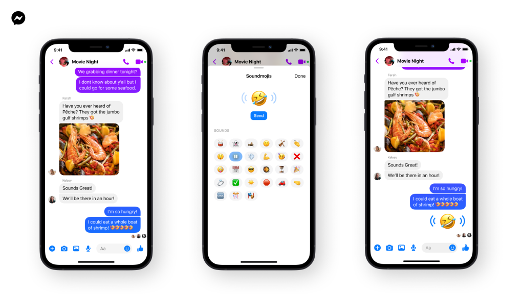 Now, express what you feel with a sound! Facebook rolls out 'soundmojis' for Messenger