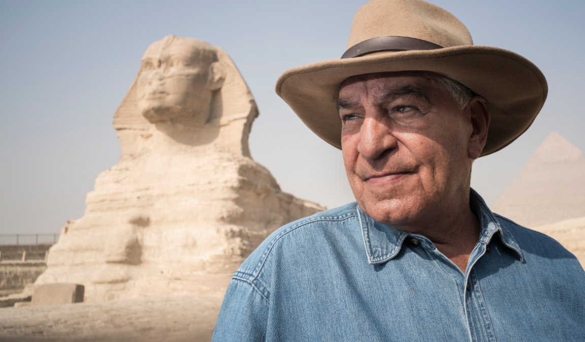 Dr. Zahi Hawass announces a new surprise for those who are in love with the Egyptian Culture