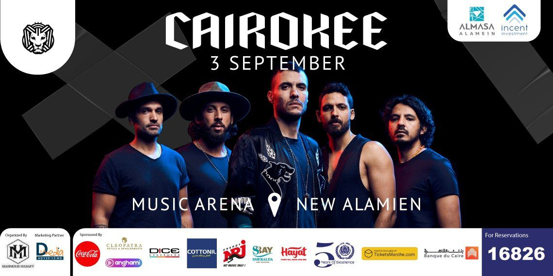 Cairokee in New Alamein