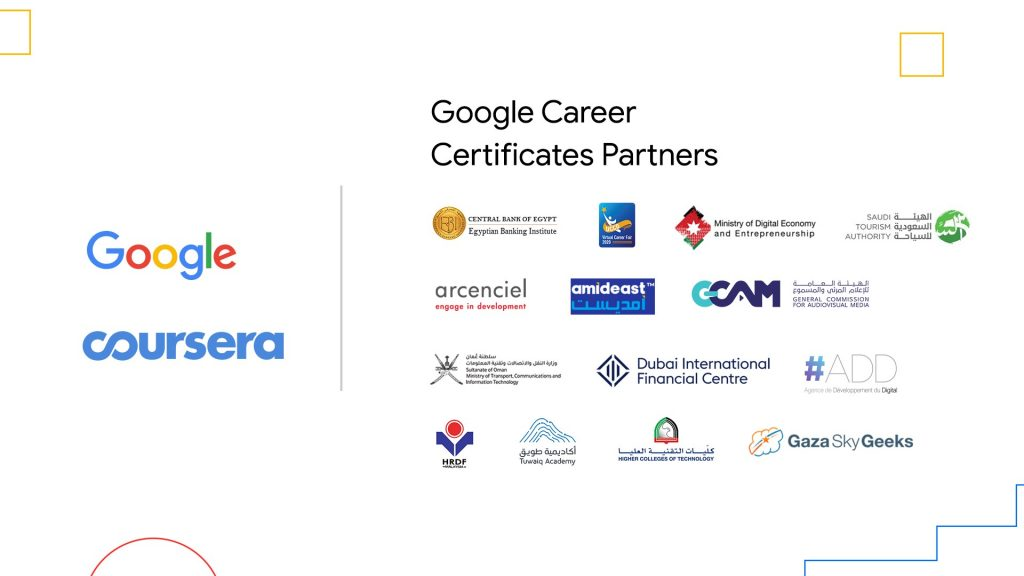 Google offers career certificates and scholarships for MENA job seekers