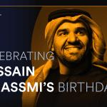 Spotify turns up the volume on Hussain Aljassmi ahead of his birthday!