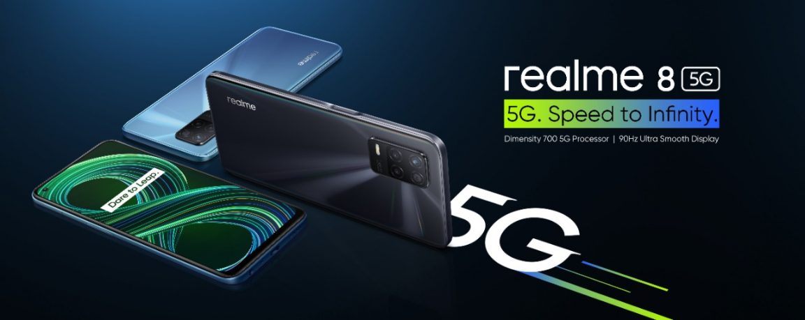 realme 8 5G: realme unveils its first 5G smartphone for Egypt