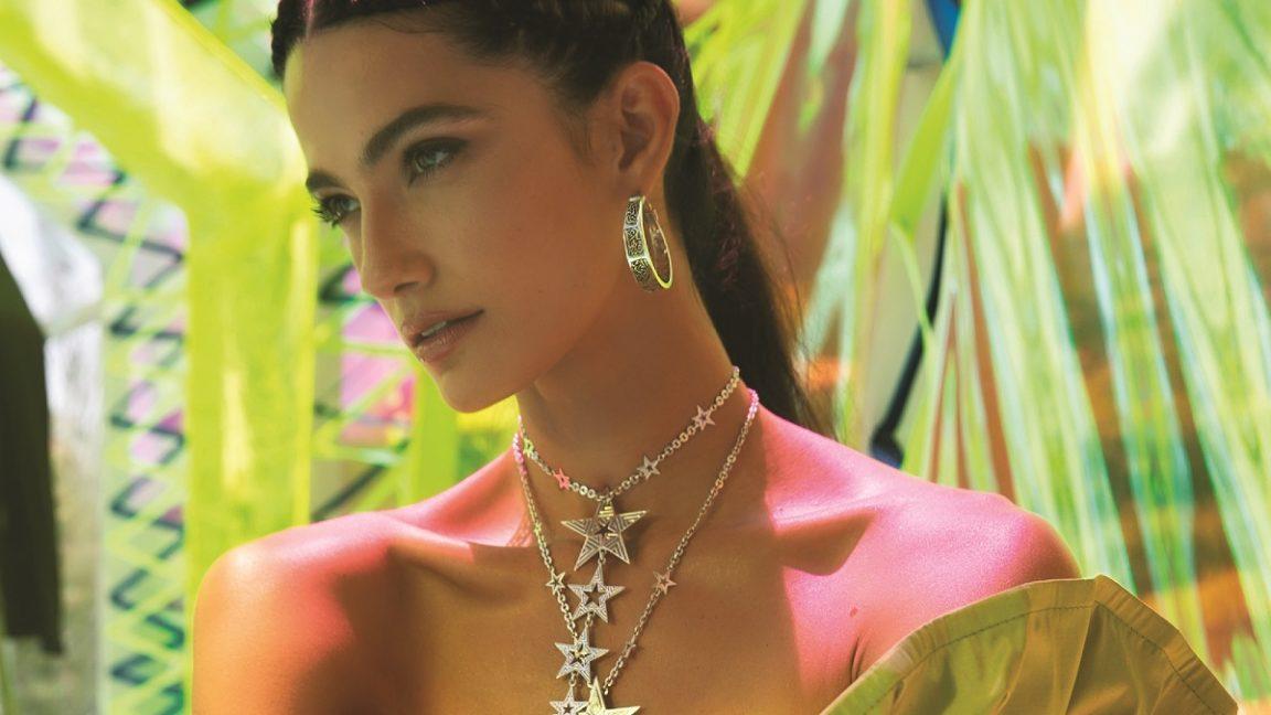 Tara Emad Ambassador of Azza Fahmy Jewellery's Latest Summer Collection