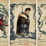 """Netflix Reveals Character Posters the Anime Movie """"The Witcher: Nightmare of the Wolf"""""""