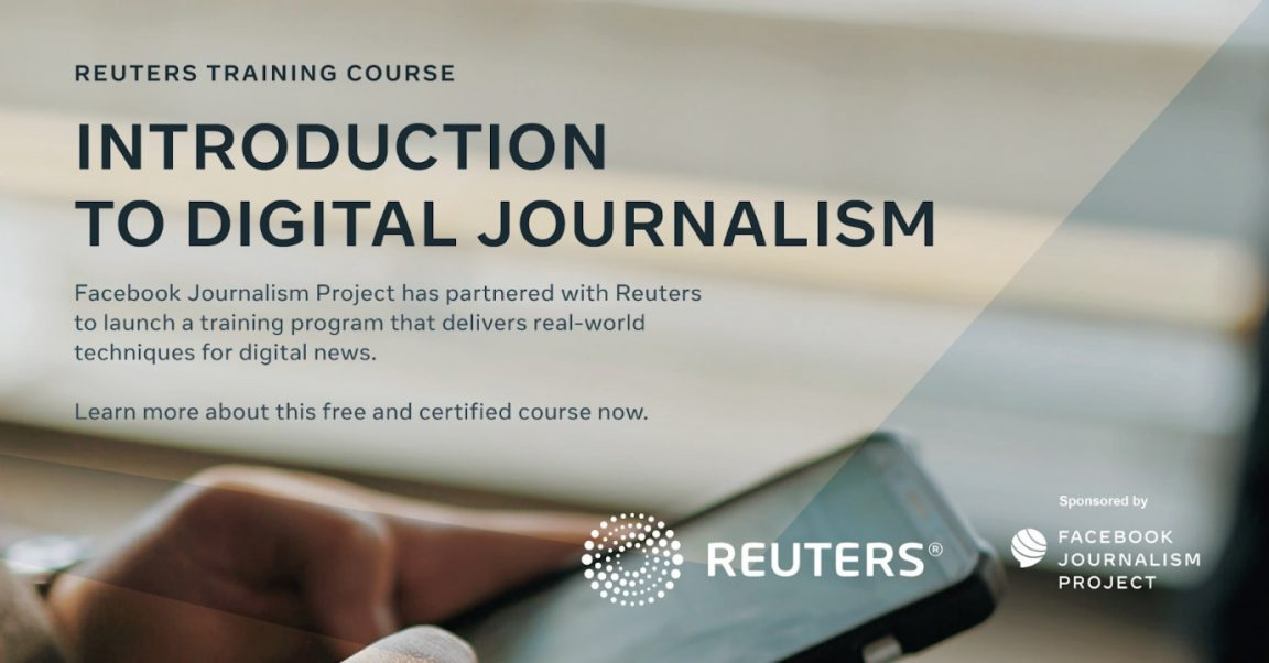 Expanding the Reuters and Facebook Journalism Project e-Learning Course for Journalists across MENA