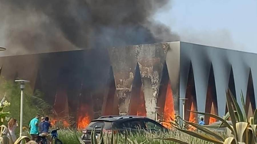 Breaking: Fires In ElGouna Film Festival Venue Confirmed - What's Happening?