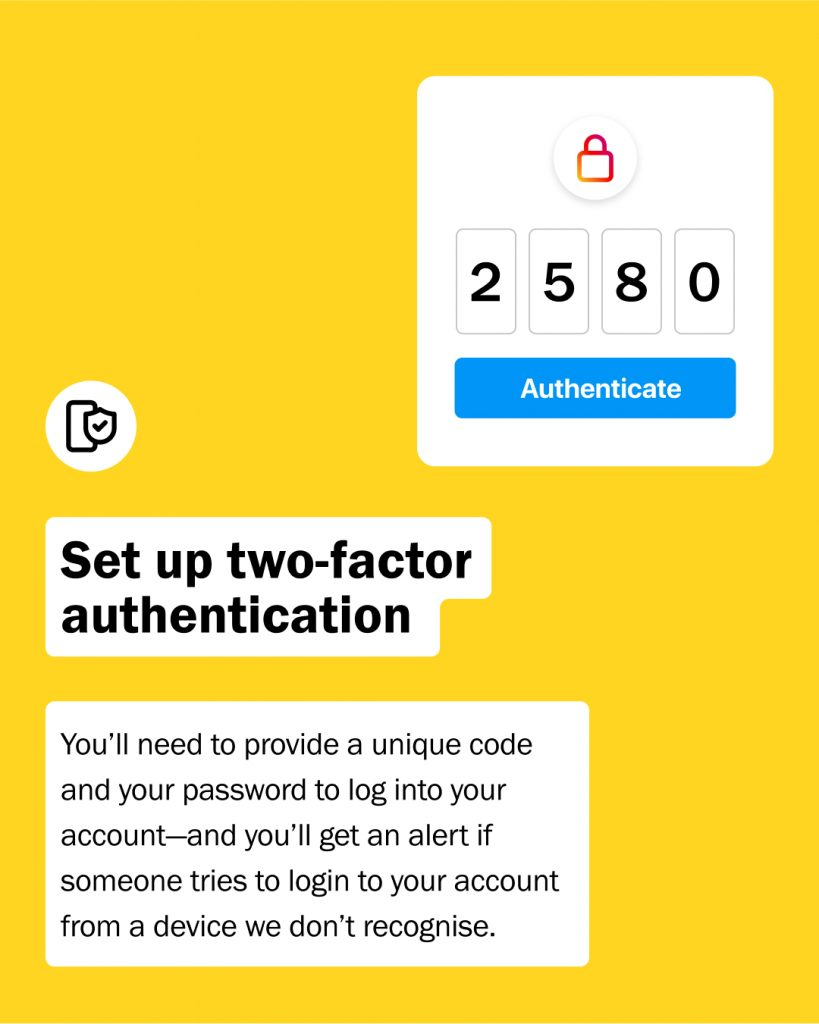 How to protect your Instagram account from phishing and scams