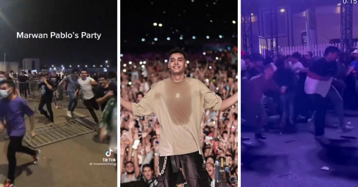 How Marwan Pablo's Latest Concert was a Complete Disaster!