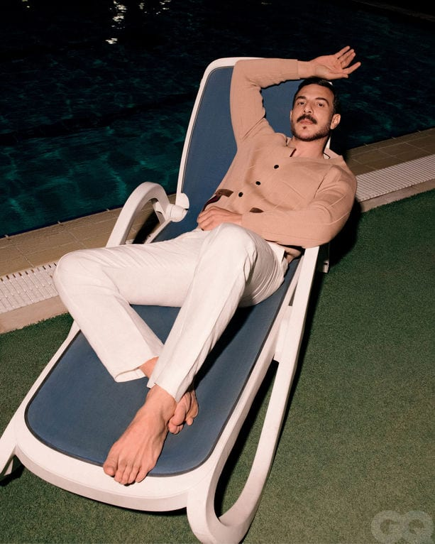 Bassel Khaiat Slays the cover of GQ Middle East