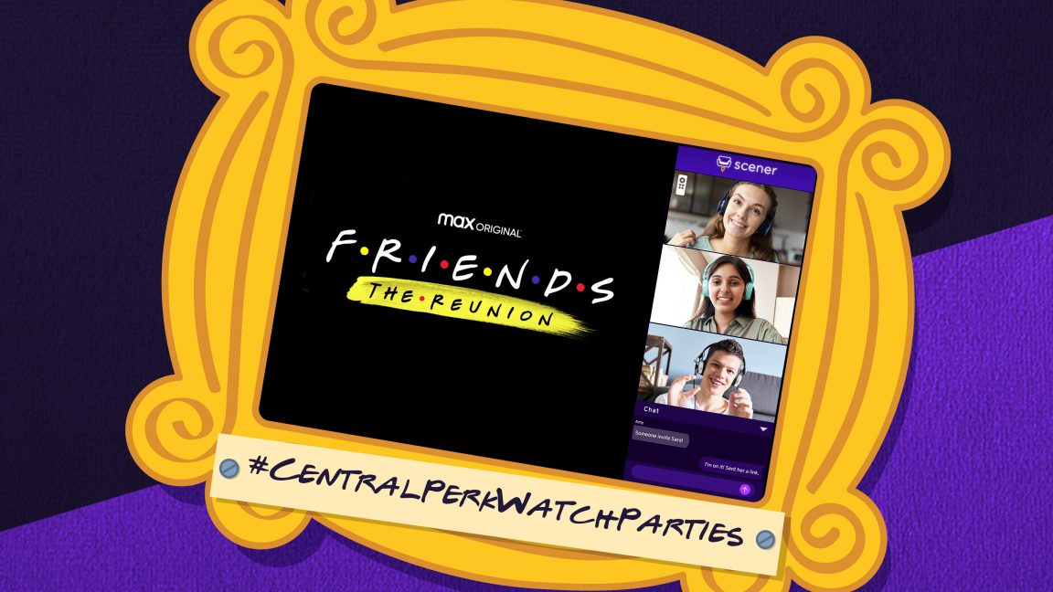 There's Now a Website to Plan HBO's FRIENDS Reunion Online Watching Parties!